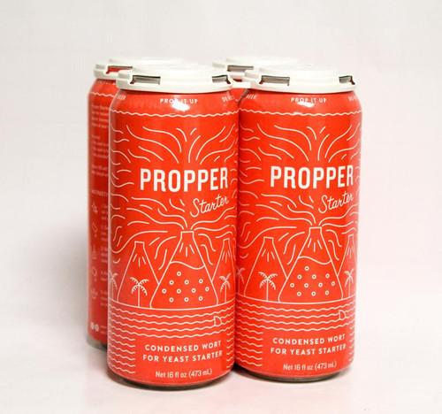 PROPPER STARTER CONDENSED WORT CAN 16 OZ - 4/PK
