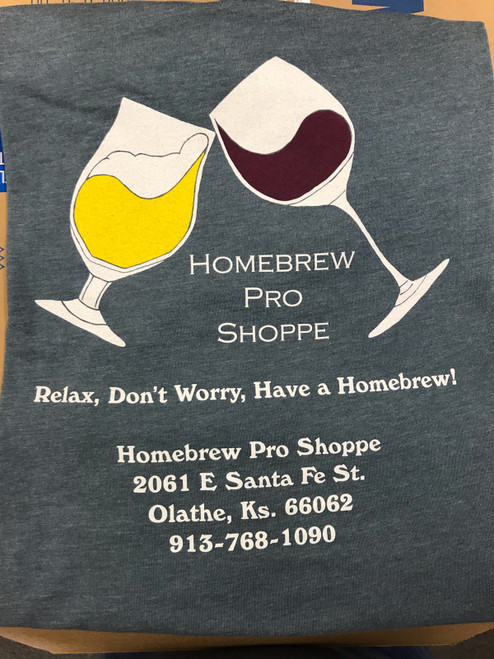 "Relax Don't Worry Have A Homebrew, ""Head Brewer"" T-shirt."
