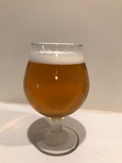 HPS Stearman's Belgian Golden Strong. Winner of a Gold Medal at KC Bier Meisters 37th annual Homebrew Competition.