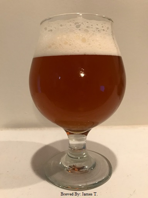 """This ale is styled after """"Boulevard's Tank 7"""".  An American variation of a Belgian Farmhouse Ale, this beer first displays fruity aromas, hoppy notes dominated with citrus and grapefruit with a spicy finish. Dry and complex. Use White Labs Liquid WLP590 French Saison Ale Yeast  for a more authentic version of this great brew.  This beer is a Gold Medal winner at Picnique Belgique Homebrew competition."""