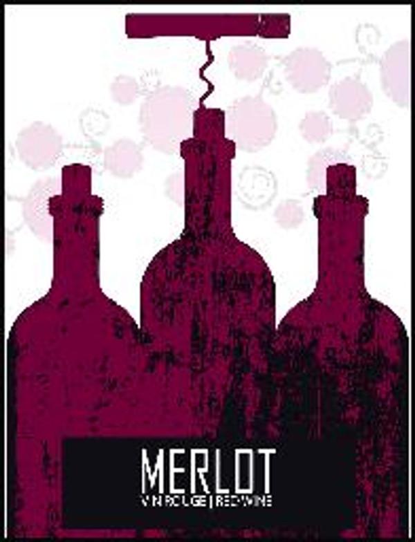 Merlot Labels