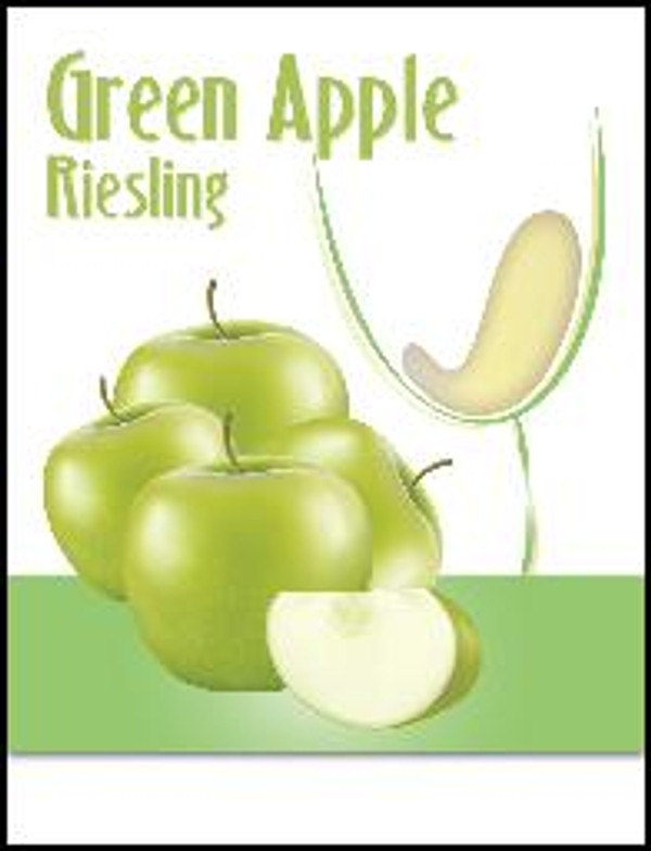 Green Apple Mist Wine Labels 30/Pack. For use with Island Mist Green Apple Riesling.