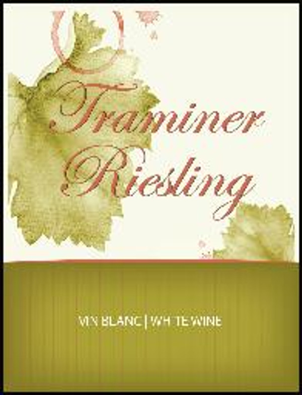 Traminer/Riesling Labels