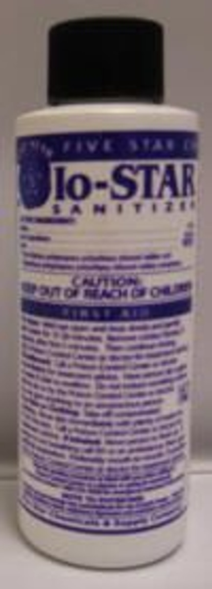 IO-Star Sanitizer, 4 Oz.