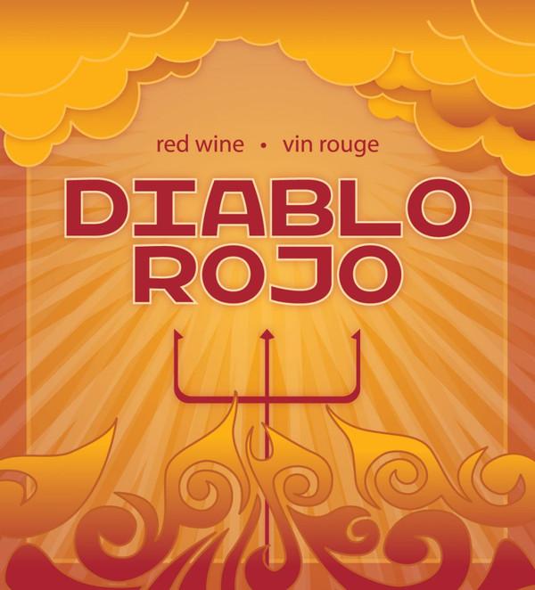VR Diablo Rojo Labels