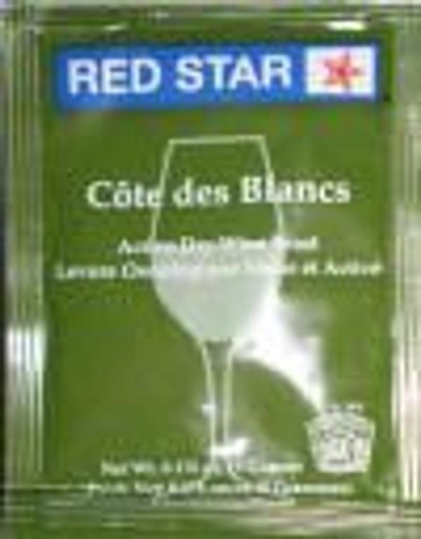 Red Star Cote Des Blanc Yeast