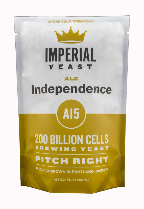 Independence is the strain for bringing some new character into your hop-driven beers. Higher in esters than Flagship, this yeast will give some fruit character that will take your hoppy beers to a new level. While it shines in pale ales and IPAs, Independence is a great all-around strain and will also work well in stouts and English ales.  Temp: 60-72F, 16-22C // Flocculation: Medium // Attenuation: 72-76%