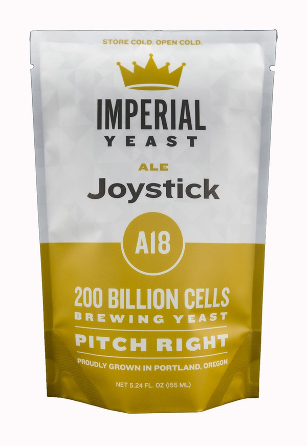 This strain is a fast mover and can be used at the low end of the ale fermentation spectrum to keep it clean. Joystick is a good choice for big, high alcohol, malty beers but has no issues chomping on a hoppy double IPA.  Temp: 60-70F,16-21C // Flocculation: Med-High // Attenuation: 73-77%