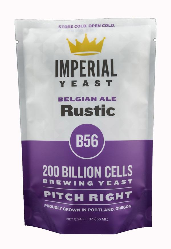 This unique yeast can be used in your saison, farmhouse ale, or other Belgian styles where high ester levels are important. Rustic typically produces a lot of bubblegum and juicy aromas that compliment complex maltiness.  Temp: 68-80F, 20-27C // Flocculation: Medium // Attenuation: 72-76%  This strain tests positive for the STA1 gene via PCR analysis and is therefore considered to be Saccharomyces cerevisiae var. diastaticus