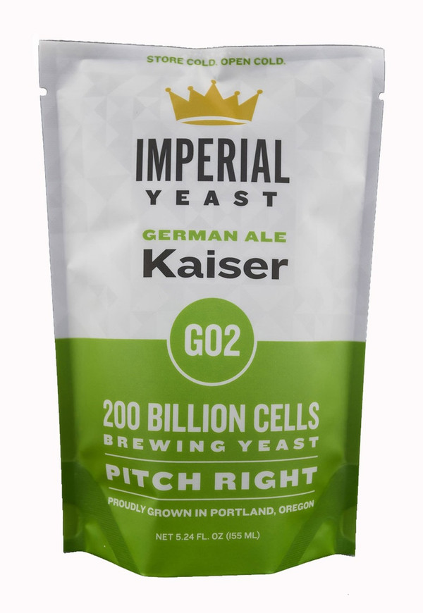 A traditional alt strain, Kaiser is ready to produce an array of German-style beers. It will keep the beer clean and allow the delicate malt flavors and aromas to shine through. Characteristics of this strain make it a good choice for traditional Berliner Weisse fermentations. Kaiser is a low flocking strain, so expect long clarification times, but very low diacetyl levels.  Temp: 56-65F, 13-18C // Flocculation: Low // Attenuation: 73-77%