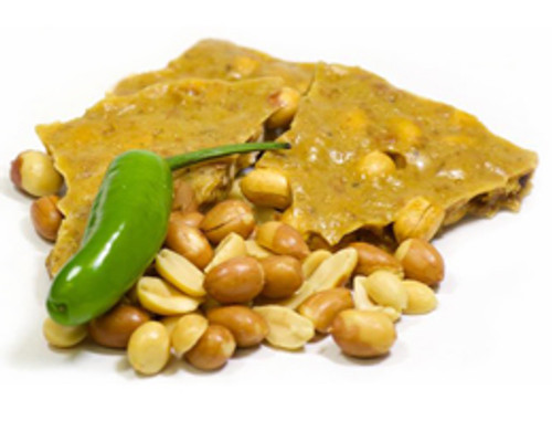 NM Green Chile Peanut Brittle