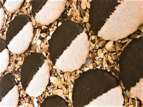 Chocolate Nut Dipped Traditional (1/2 Dozen)