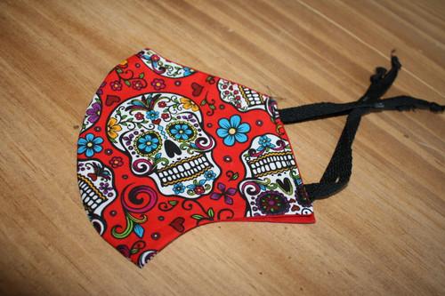 Dia De Los Muertos Handmade Face Masks