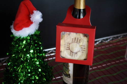Wine Bottle Biscochito Box