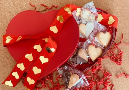 Heart Shaped Biscochito Sampler Box