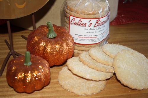 1 Dozen Pumpkin Biscochitos