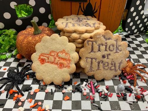 1 Dozen Halloween Stamped Biscochitos