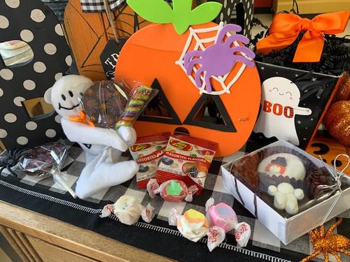 Small Child's Halloween Gift Basket