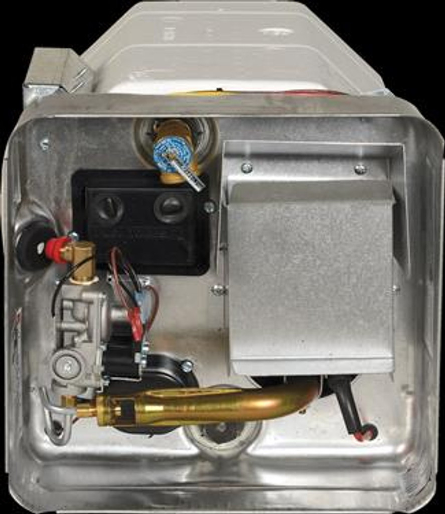 Water Heater; Electric; Model Number SW4DE; 4 Gallon; Direct Spark Ignition; With 12 Volt Relay