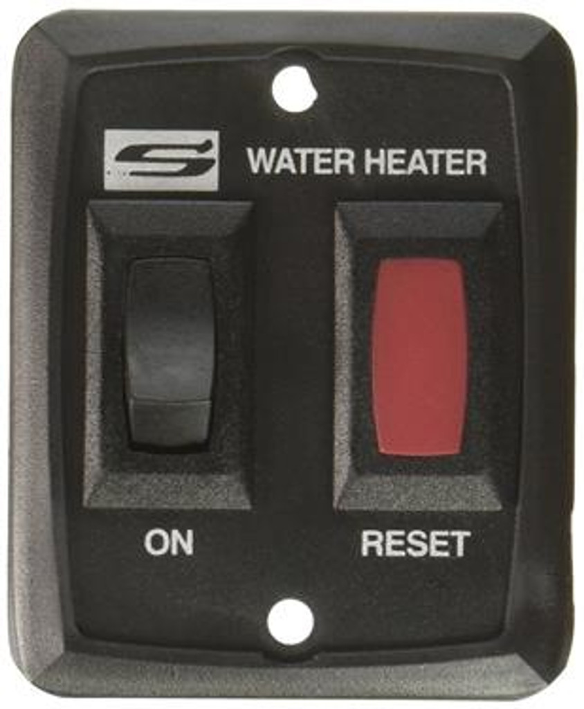 Water Heater Power Switch; For Suburban Nautilus Series Water Heaters; Black; Also Use New Number 234229
