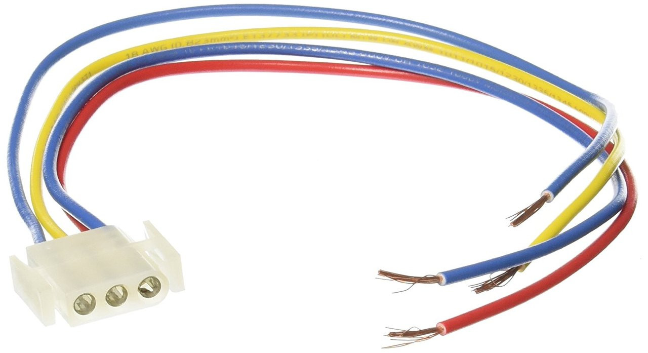Suburban Furnace Power Supply Wire Harness 520322 (3 pin female) - Suburban  RV PartsSuburban RV Parts