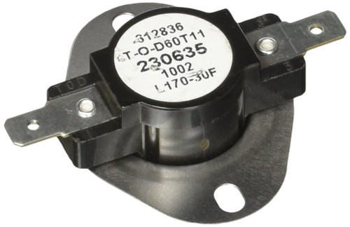 Furnace Limit Switch; For Suburban Furnace NT-12SE/ NT-16SE