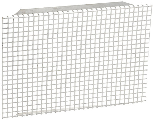 Water Heater Access Door Grille; Water Heater Door Screen; For Suburban 10 Gallon Standard Water Heater; 9-1/2 Inch Wide x 6-3/4 Inch Length