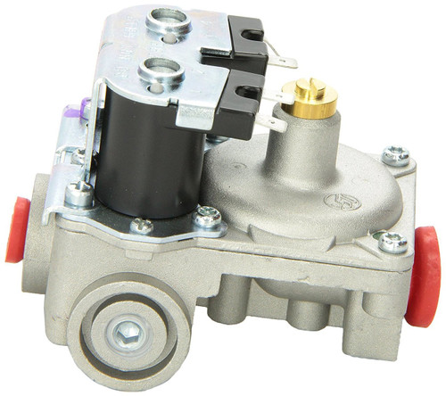 Water Heater Gas Valve; For Suburban 6 Gallon SW-Series Water Heater; 3/8 Inch NPT Inlet x 1/4 Inch Loxit Outlet