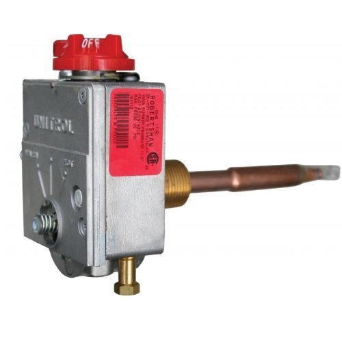 Water Heater Gas Valve; For Suburban Water Heater SW3P (After Serial Number 95340118)/ SW6P (After Serial Number 95340118)/ SW6PR (After Serial Number 95340118)/ SW6PER (After Serial Number 95340118); 3/8 Inch NPT Inlet x 1/4 Inch Loxit Outlet