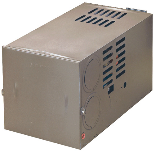 Furnace; NT Series; LP; Model Number NT-40; 40,000 BTU; 9.5 Amp Draw; 12 Inch Width x 12-1/2 Inch Height x 23 Inch Depth; 25.55 Pounds; With Energy-Saving Electronic Ignition; With Gasket-Sealed Vent Assembly