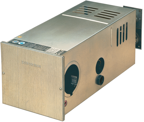 Furnace; NT-SQ Series; LP; 16,000 BTU; Side/ Top And Bottom Duct Discharge; 2.8 Amp Draw; 9-3/8 Inch Width x 9-1/2 Inch Height x 22-1/2 Inch Depth; 25.5 Pounds; With Energy-Saving Electronic Ignition; With Gasket-Sealed Vent Assembly