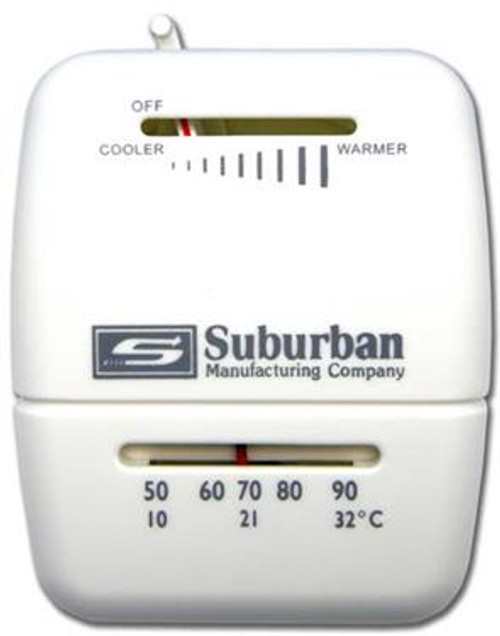 Suburban Single Stage Wall Thermostat 161154 (for heat control)