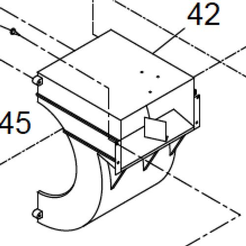 Furnace Blower Housing; Furnace Blower Wheel Housing; For Suburban Furnace SF-20Q/ SF-30Q/ SF-35Q/ SF-25Q/ SF-20FQ/ SF-27FQ/ SF-30FQ/ SF-35FQ