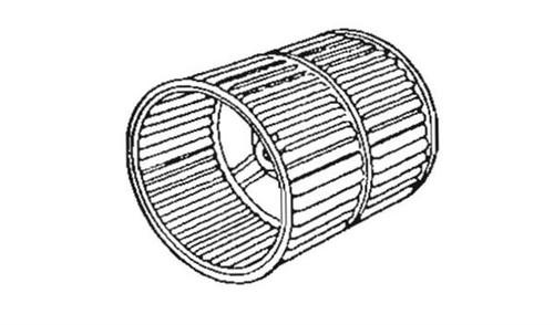 Furnace Blower Wheel; For Suburban Furnace SF-20Q/ SF-25Q/ SF-30Q/ SF-35Q/ SF-42Q/ SF-20FQ/ SF-25FQ/ SF-30FQ/ SF-35FQ/ SF-42FQ