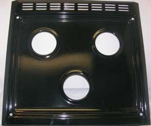 Stove Top; Replacement Slide In Top For Suburban 3 Burner Ranges SR3/ SC3/ SRN3/ SRNA3/ SCN3 and SCNA3; Black