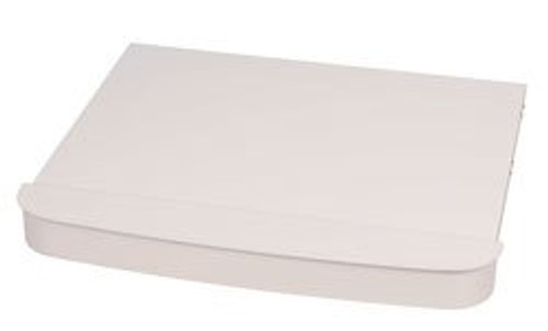 Stove Top Cover; For Suburban 3 Burner SDN3 Cooktops; White; Without Side Wind Guards