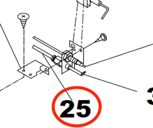 Stove Pilot Tube; For Use With Suburban Short Oven SRNA3/ SRSA3