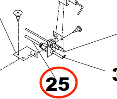 Stove Pilot Tube; For Use With Suburban Stove Oven SRNA3LBBE/ SRNA3LBBM/ SRNA3LBGE/ SRNA3LPSS/ SRNA3LWBE/ SRNA3LWBM/ SRNA3LWWE/ SRNA3LWWM/ SRNA3LBBE/ SRNA3LBBM/ SRNA3LBGE/ SRNA3LPSS/ SRNA3LWBE/ SRNA3LWBM/ SRNA3LWWE/ SRNA3LWWM