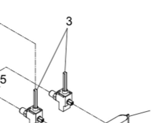 Stove Burner Valve; For Suburban SDN2 And SDN3