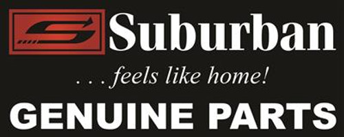 Stove Burner Valve; Replacement Burner Valve For Suburban Stove; Top Burner; 6500 BTU
