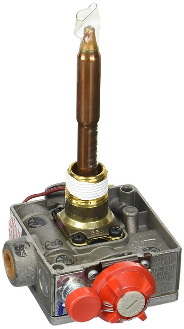 Water Heater Gas Valve; For Suburban Water Heater SW6P (9348XX And Before); 3/8 Inch Inverted Flare x 3/8 Inch Inverted Flare