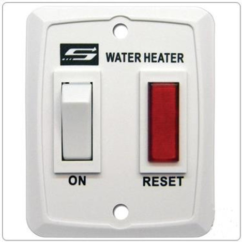 Water Heater Power Switch; For Suburban Nautilus Series Water Heaters; White; Also Use New Number 234589