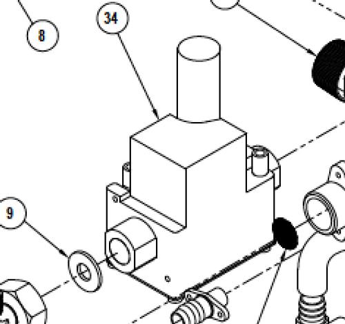 Suburban IW60 Gas Valve (161248)