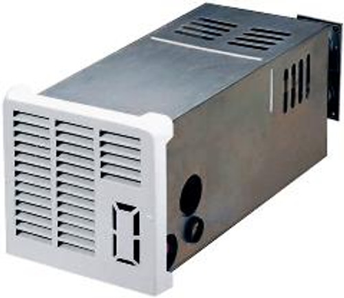 Furnace; NT-SEQ Series; LP Gas; Model Number NT-20SEQ; 19000 BTU; Optional Side Duct; 2.8 Amp Draw; 9-3/8 Inch Width x 9-1/2 Inch Height x 21-1/8 Inch Depth; Electronic Ignition; Gasket Sealed Vent Assembly; With White Composite Access Door