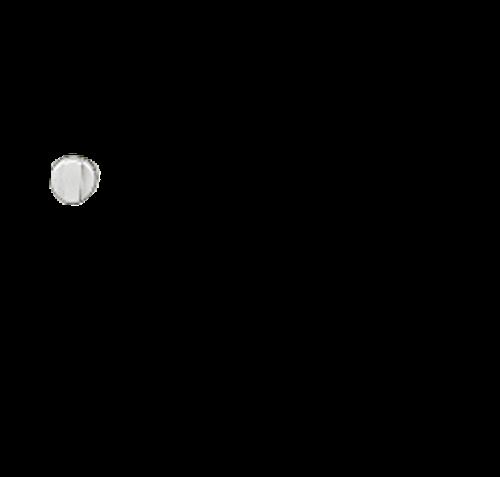 Stove Control Knob; For Suburban SCNA3/ SCSA3/ SRNA3/ SRSA3 Series; Piezo Igniter Knob; Brushed Nickel