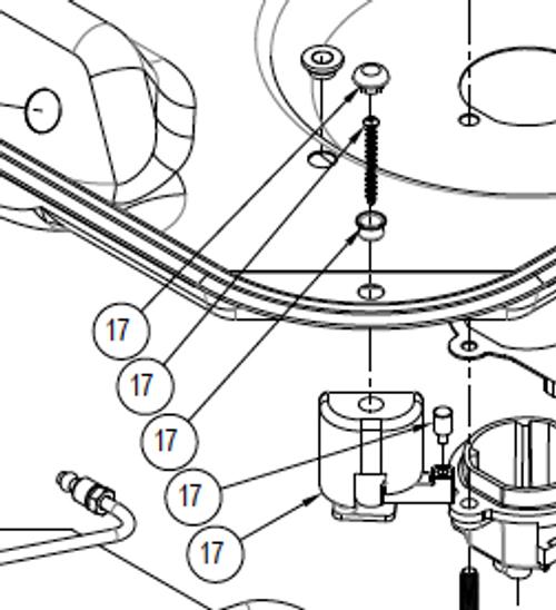 APPLIANCE COMPONENTS RV; KIT CORNER MTG CLAMP