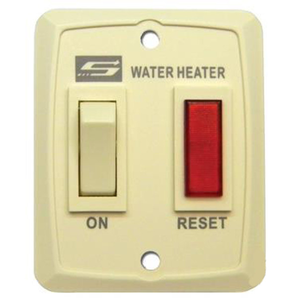 Water Heater Power Switch; For Suburban Nautilus Series Water Heaters; Cream; Also Use New Number 234795