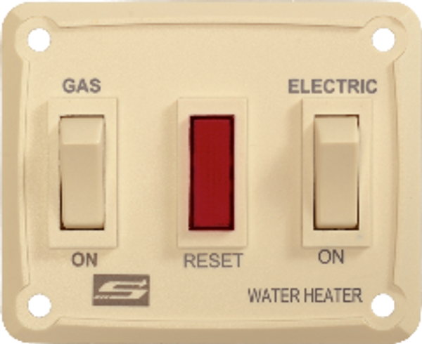 Water Heater Power Switch; For Suburban Gas-Electric Water Heaters; Wall Mounted