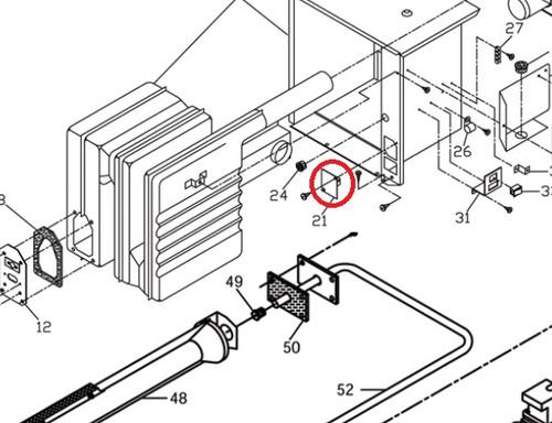 Suburban Furnace Limit Switch 230496 (NT Series