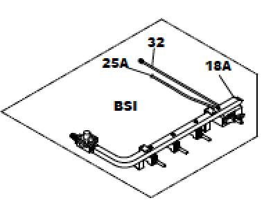 Suburban Stove Manifold 521102 (521020/ 171706/ 161206